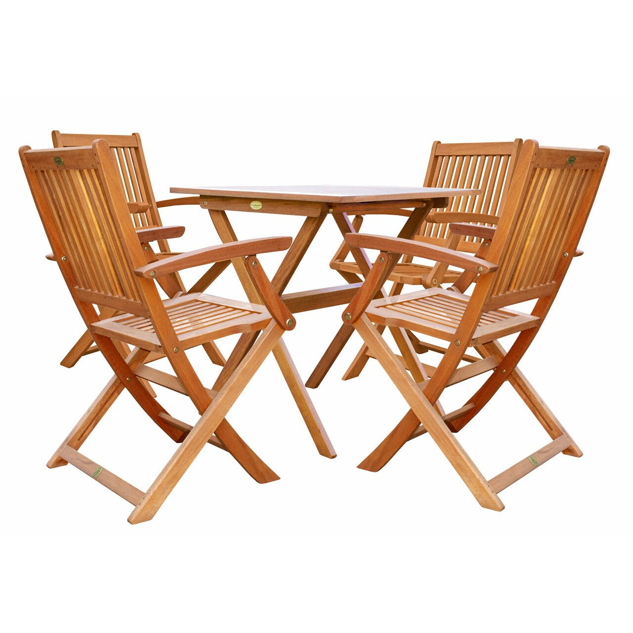 alkbrands luunguyen win 5 piece folding bistro dining set. Black Bedroom Furniture Sets. Home Design Ideas