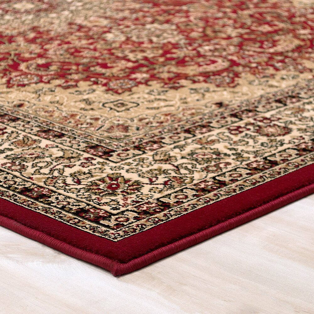 allstar rugs handmade red area rug