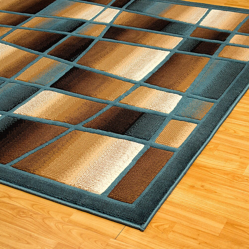 Allstar Rugs Blue Area Rug Wayfair Ca