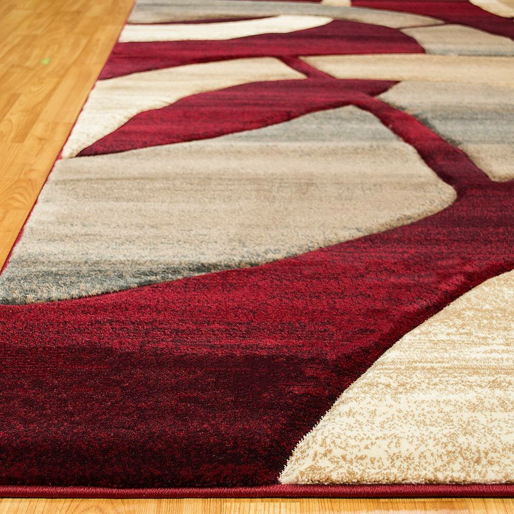 allstar rugs red area rug reviews wayfair