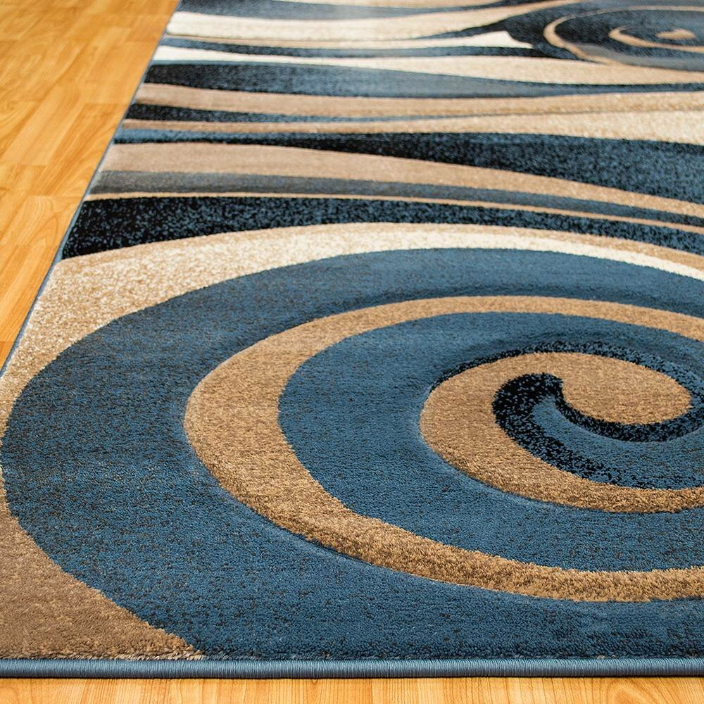 Allstar Rugs Blue Area Rug Amp Reviews Wayfair