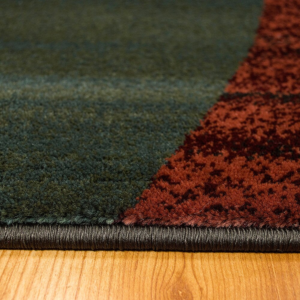 Allstar Rugs Teal Area Rug Wayfair