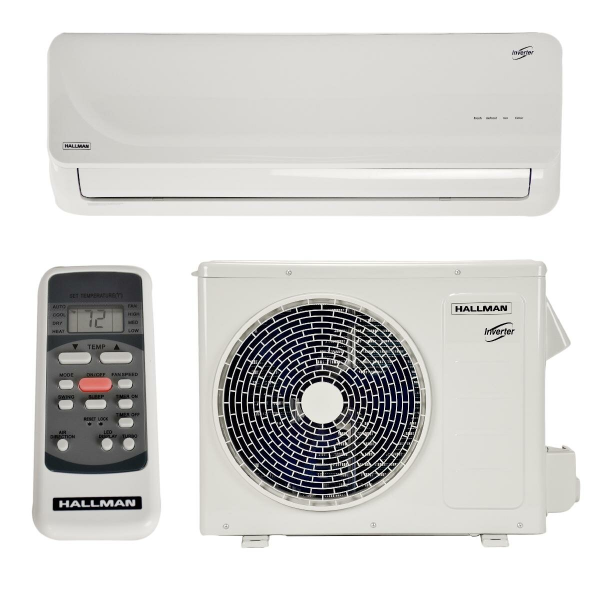 Industries 22 000 BTU Energy Star Split Air Conditioner with Remote #894942