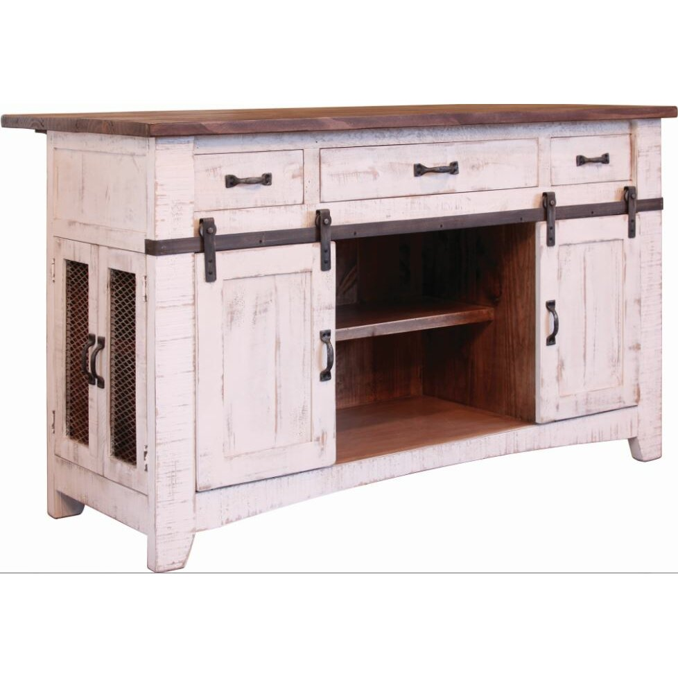 Kitchen Island Furniture: International Furniture Direct Pueblo Kitchen Island