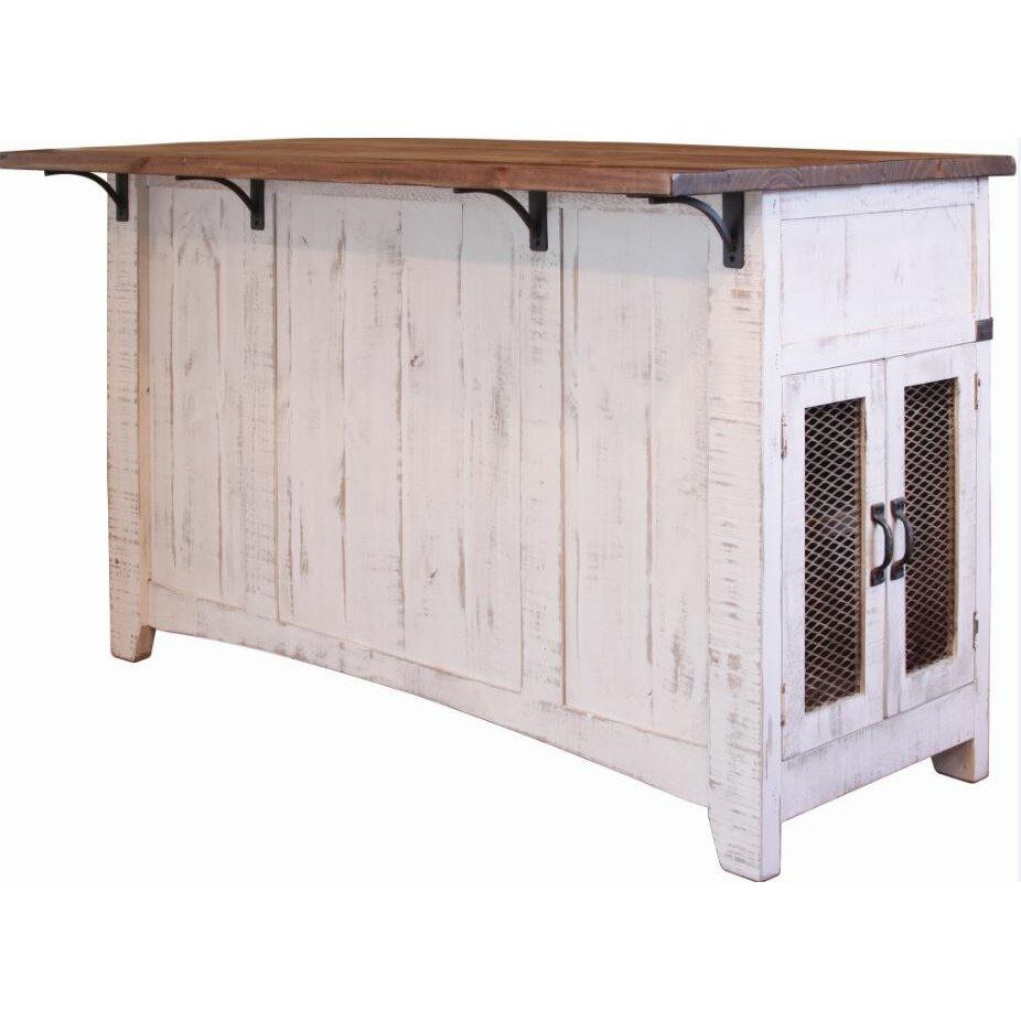 Inside Out Furniture Direct: International Furniture Direct Pueblo Kitchen Island