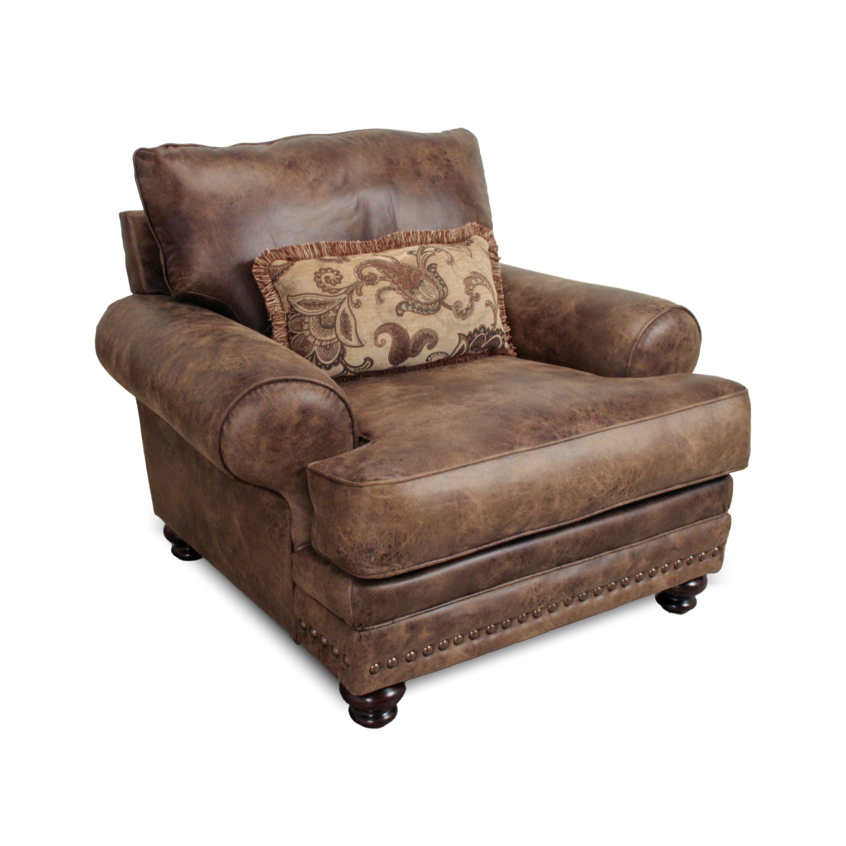 Loon Peak Claremore Chair And A Half Amp Reviews Wayfair Ca