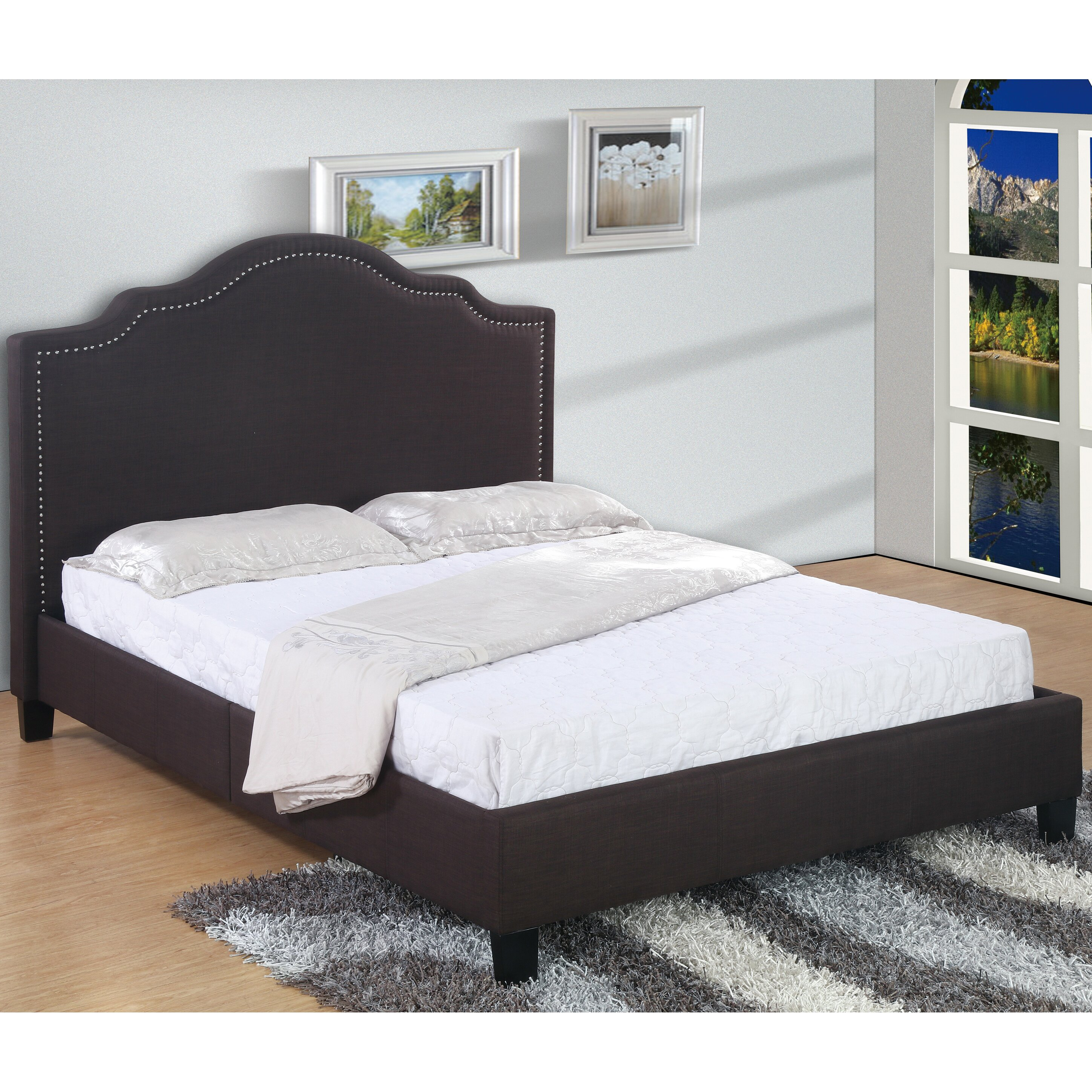 Highest Quality Furniture: Best Quality Furniture Upholstered Platform Bed