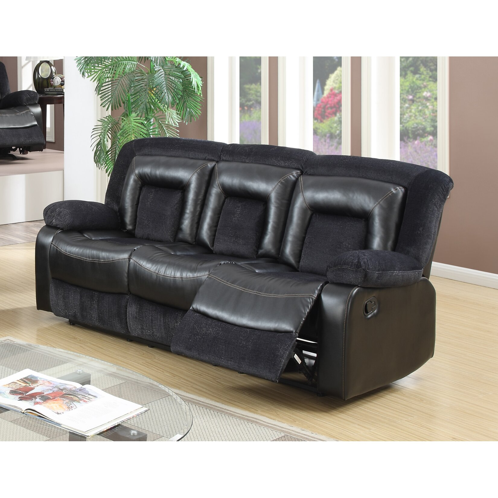 Best quality furniture recliner sofa wayfair for Best quality furniture