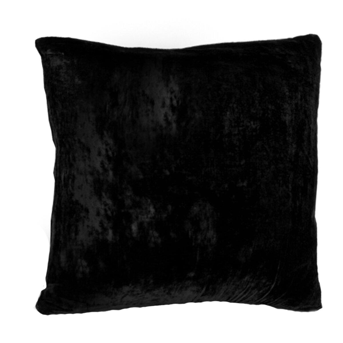 Throw Pillows Vintage Fabric : ArtOFabric Vintage Triple Velvet Ultra Soft Throw Pillow & Reviews Wayfair
