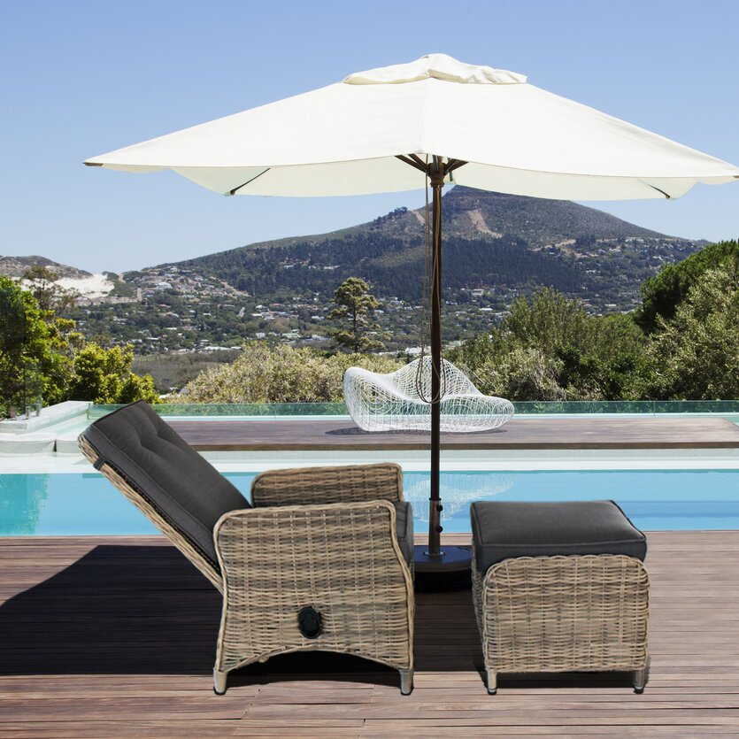 Modern Outdoor Lounge Furniture: Magari Modern Contemporary Outdoor Pool Patio Furniture