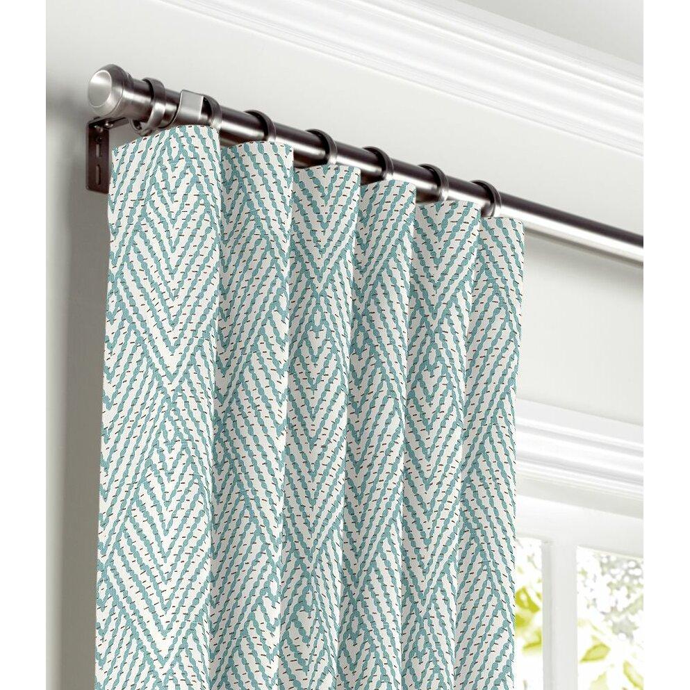 Loom Decor Tribal Curtain Panel