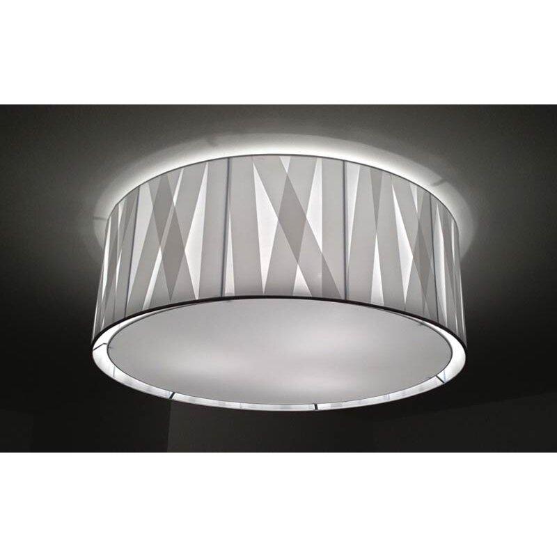 Ceiling Light Crossbar : Bernd unrecht cross lines light flush ceiling