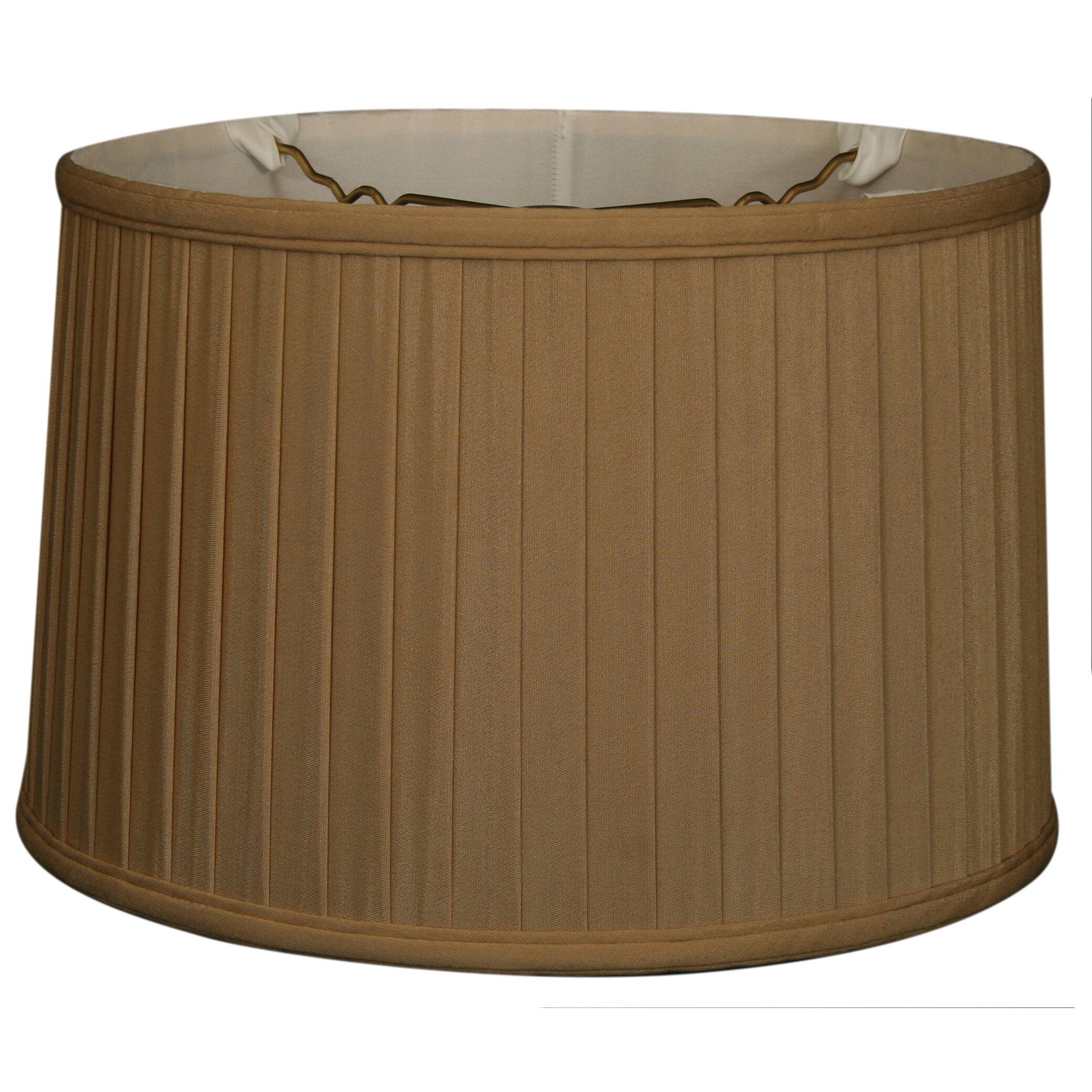 royaldesigns 18 timeless silk drum lamp shade wayfair. Black Bedroom Furniture Sets. Home Design Ideas