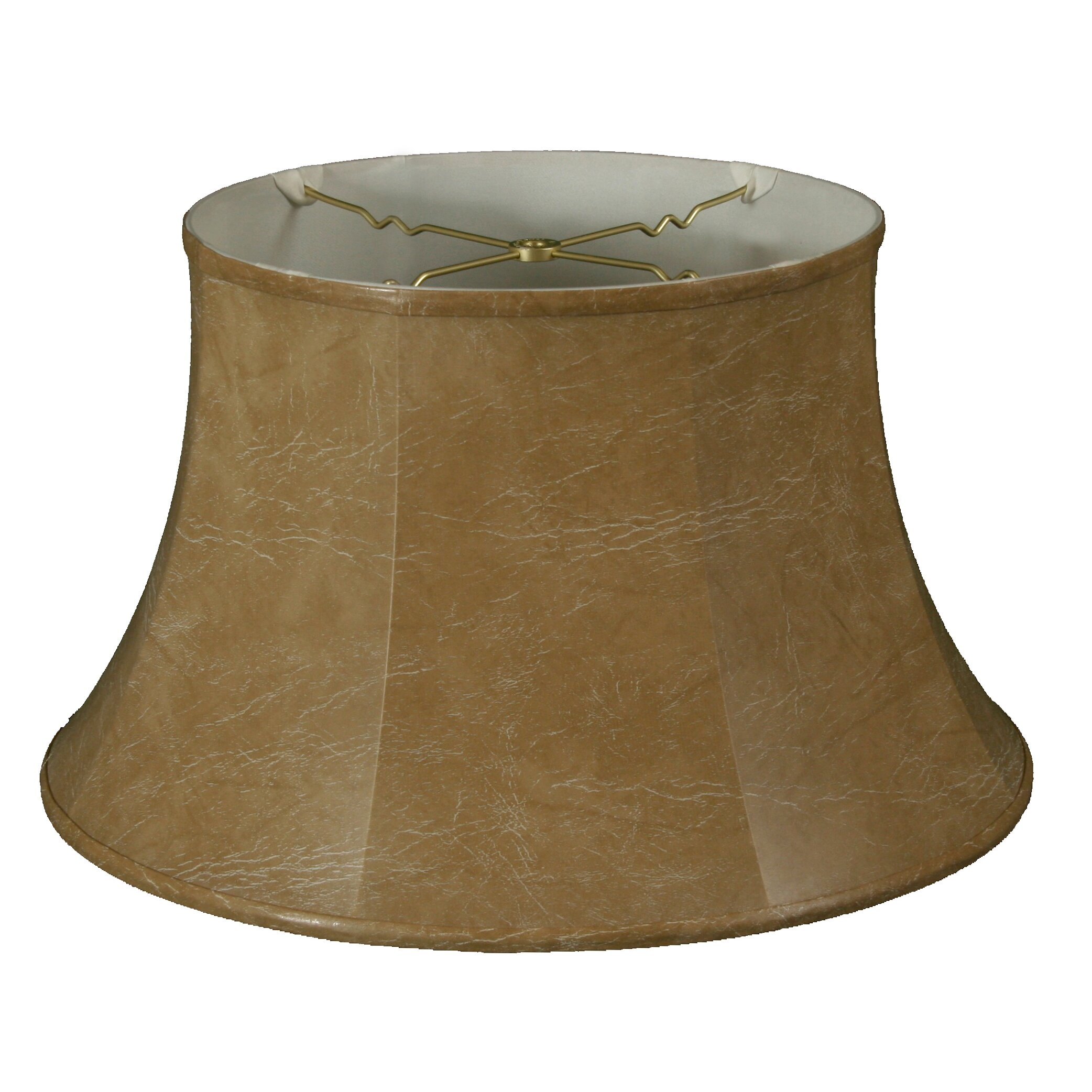 royaldesigns 17 timeless faux leather drum lamp shade wayfair. Black Bedroom Furniture Sets. Home Design Ideas