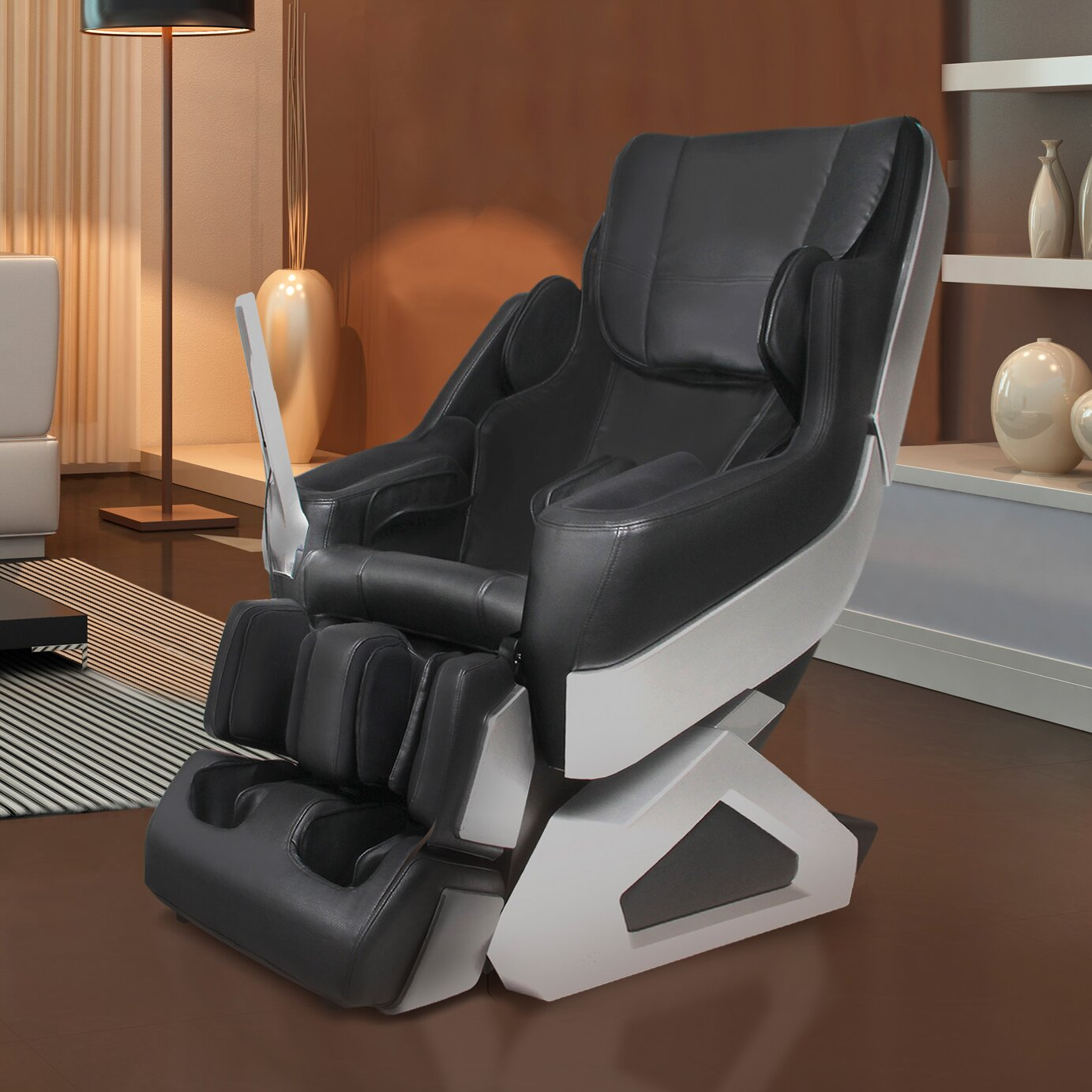 Dynamic massage chairs arcadia edition zero gravity for Living room zero gravity chair