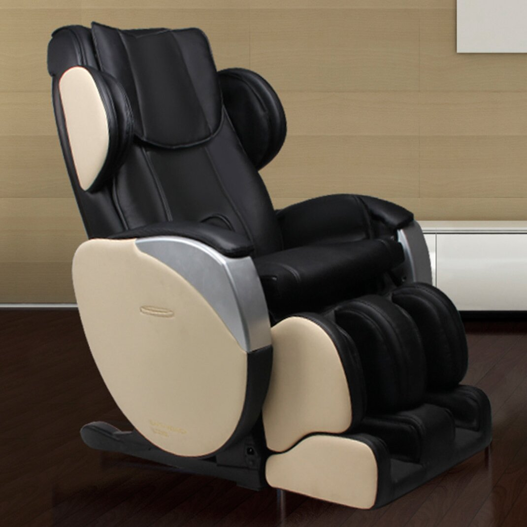 Dynamic massage chairs santa monica edition zero gravity for Living room zero gravity chair