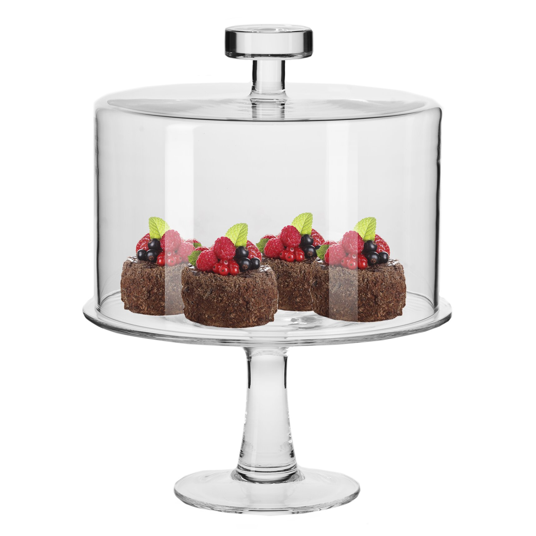 Krosno Handmade Gl June Covered Cake Stand Set 11in Target  sc 1 st  Migrant Resource Network & Cake Stand With Glass Cover | Migrant Resource Network