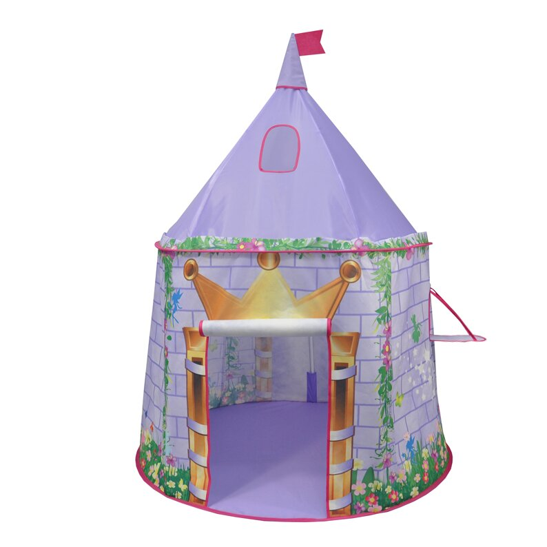 checkey limited tentsy princess castle play tent wayfair. Black Bedroom Furniture Sets. Home Design Ideas