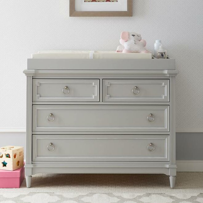 Stone Leigh By Stanley Furniture Clementine Court 4 Drawer Dresser Reviews Wayfair