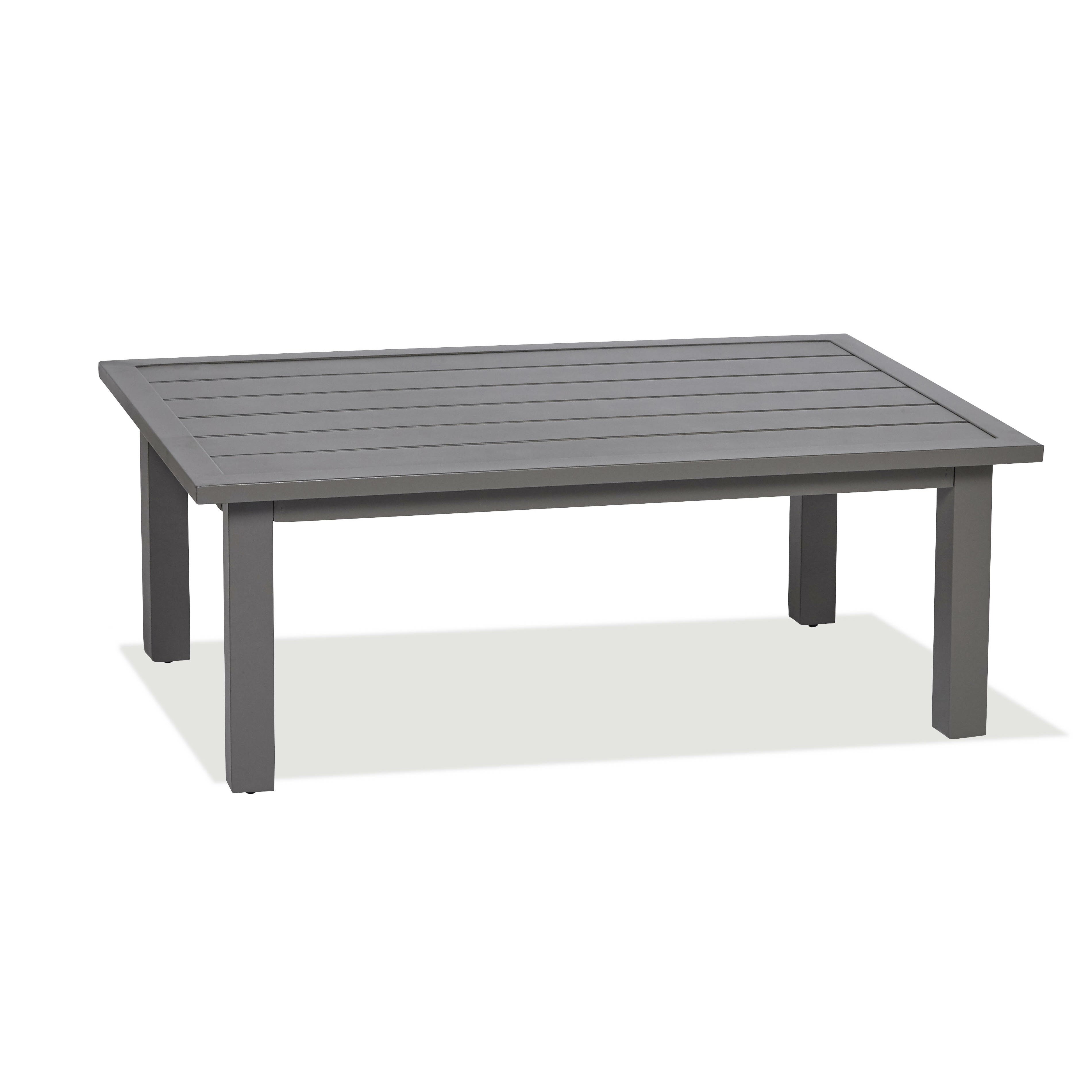 Ams outdoor chevron slats coffee table reviews wayfair for Wayfair outdoor coffee table