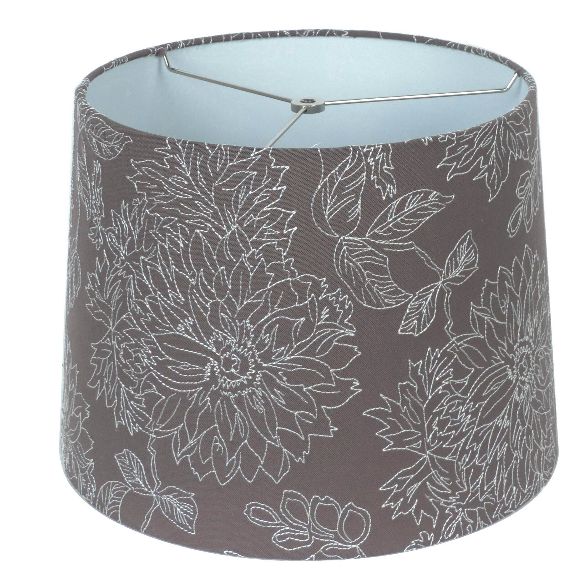 Homestyle Collection 15 Quot Linen Drum Lamp Shade Wayfair