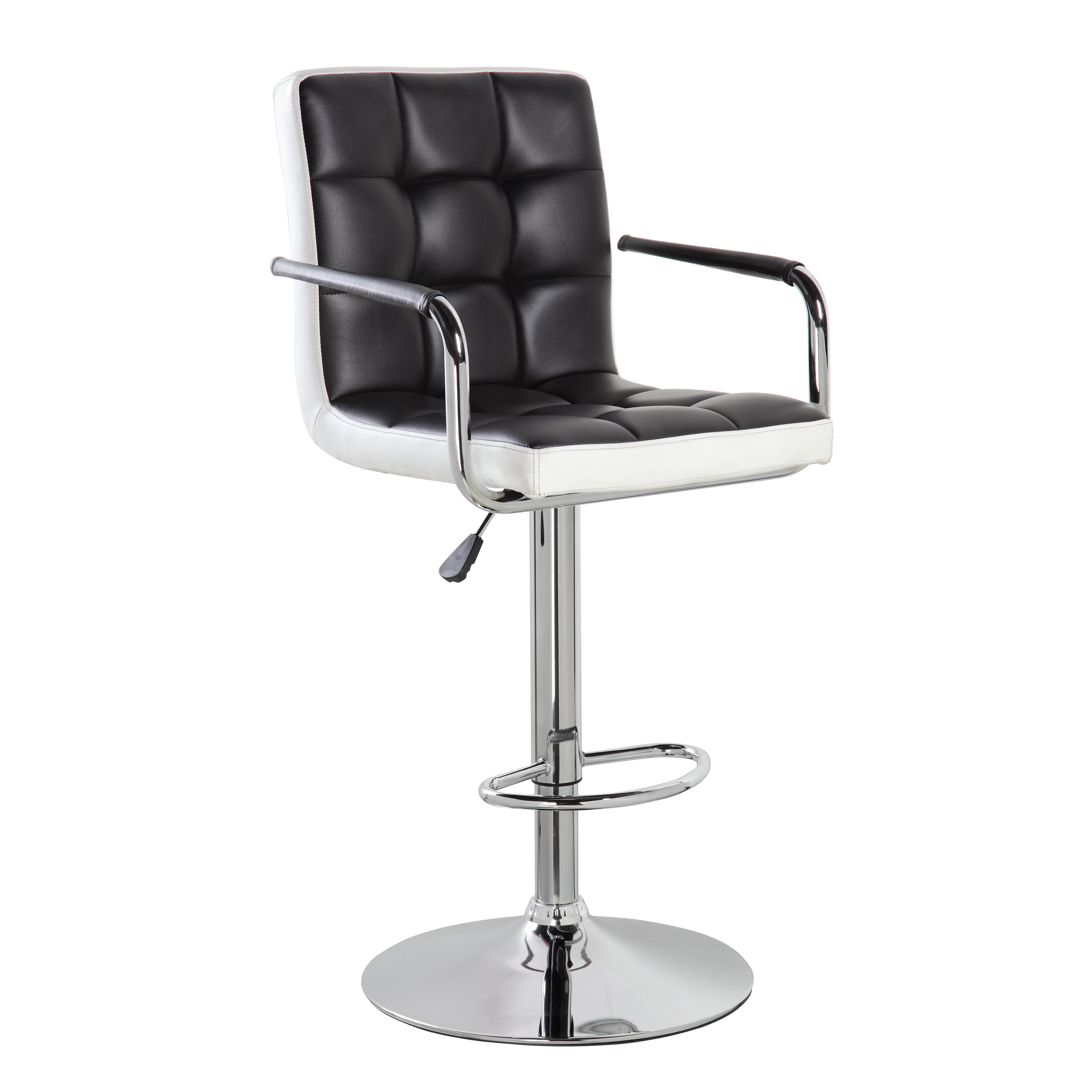 United Chair Industries LLC Adjustable Height Swivel Bar  : United Office Chair Adjustable Height Swivel Bar Stool with Cushion from www.wayfair.ca size 5234 x 5234 jpeg 855kB