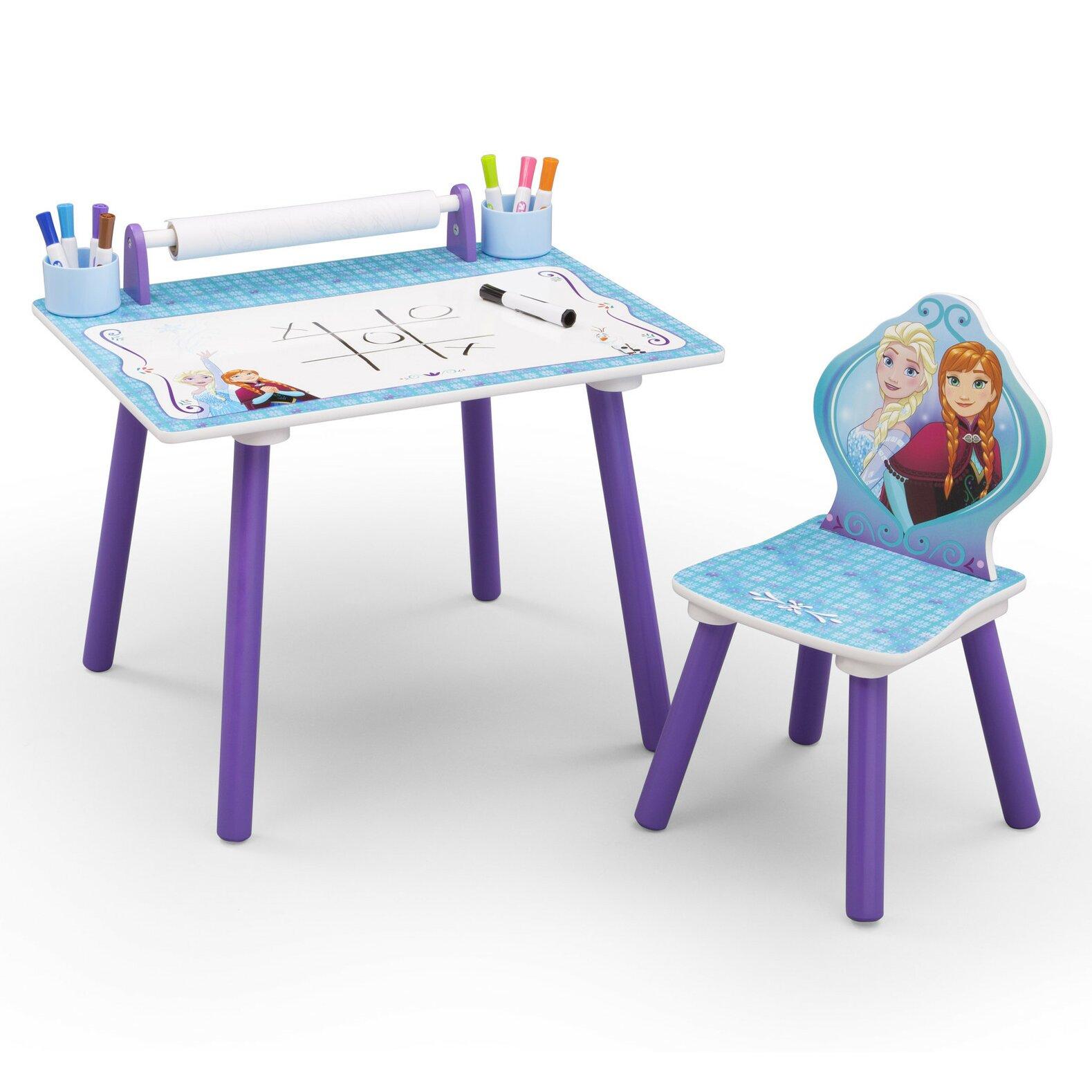 deltachildren 2 tlg kinder tisch set eisk nigin v llig. Black Bedroom Furniture Sets. Home Design Ideas