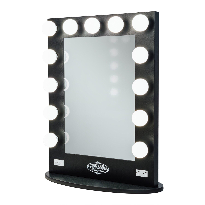 Vanity Mirror With Lights Wayfair : Vanity Girl Hollywood Broadway Lighted Vanity Mirror & Reviews Wayfair