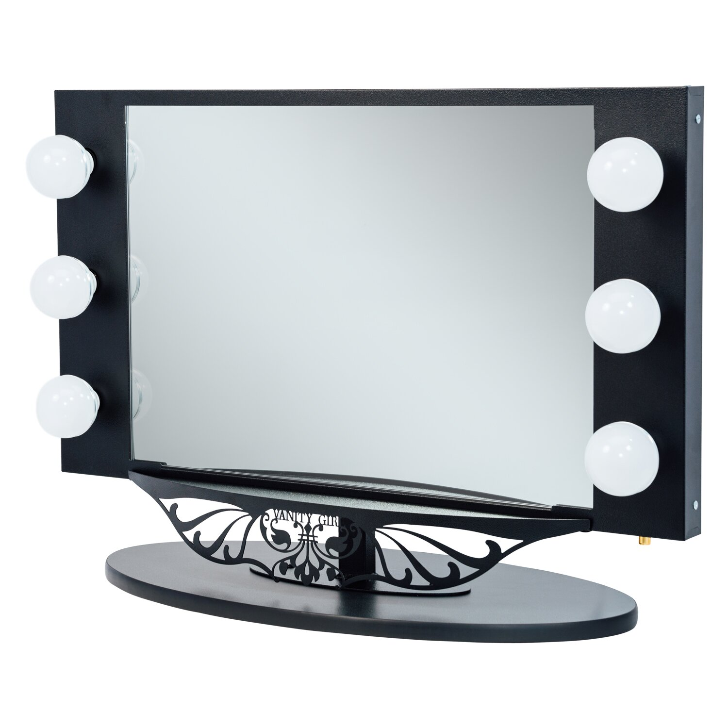 Vanity Girl Lighted Mirror : Vanity Girl Hollywood Starlet Lighted Vanity Mirror & Reviews Wayfair