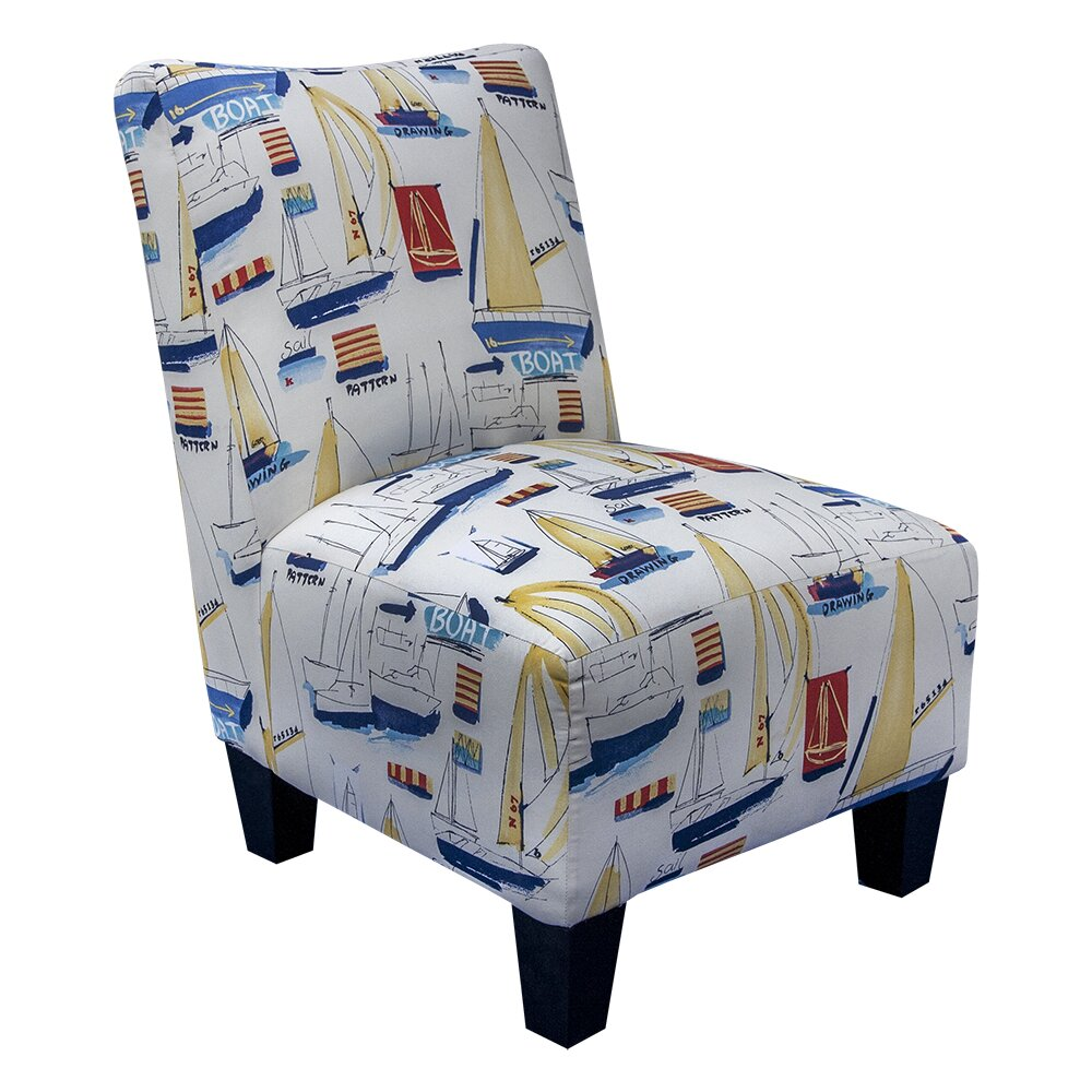 GraftonHome Nautical Delight Armless Accent Chair  : Grafton Home Nautical Delight Armless Accent Chair from www.wayfair.com size 1000 x 1000 jpeg 205kB