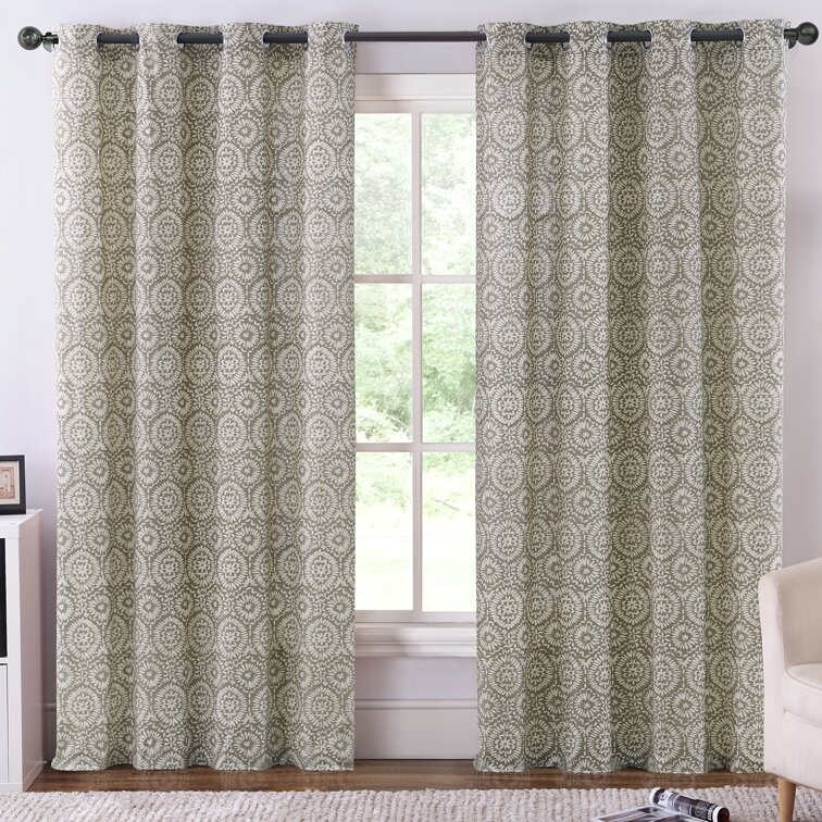 Ruthy 39 S Outlet Thermal Blackout Curtain Panels Reviews Wayfair