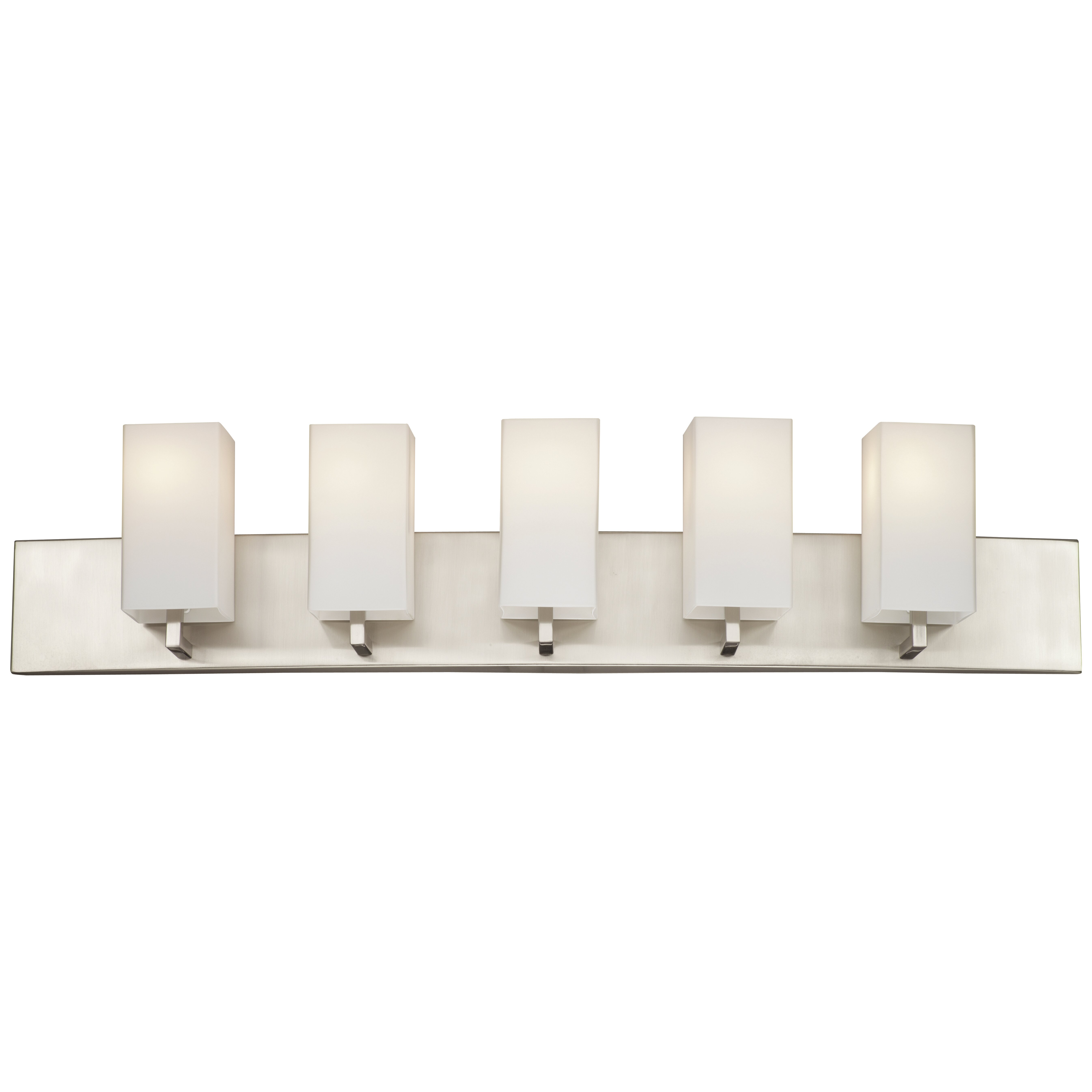 philips bathroom lighting philips avenue 5 light vanity light amp reviews wayfair 13961