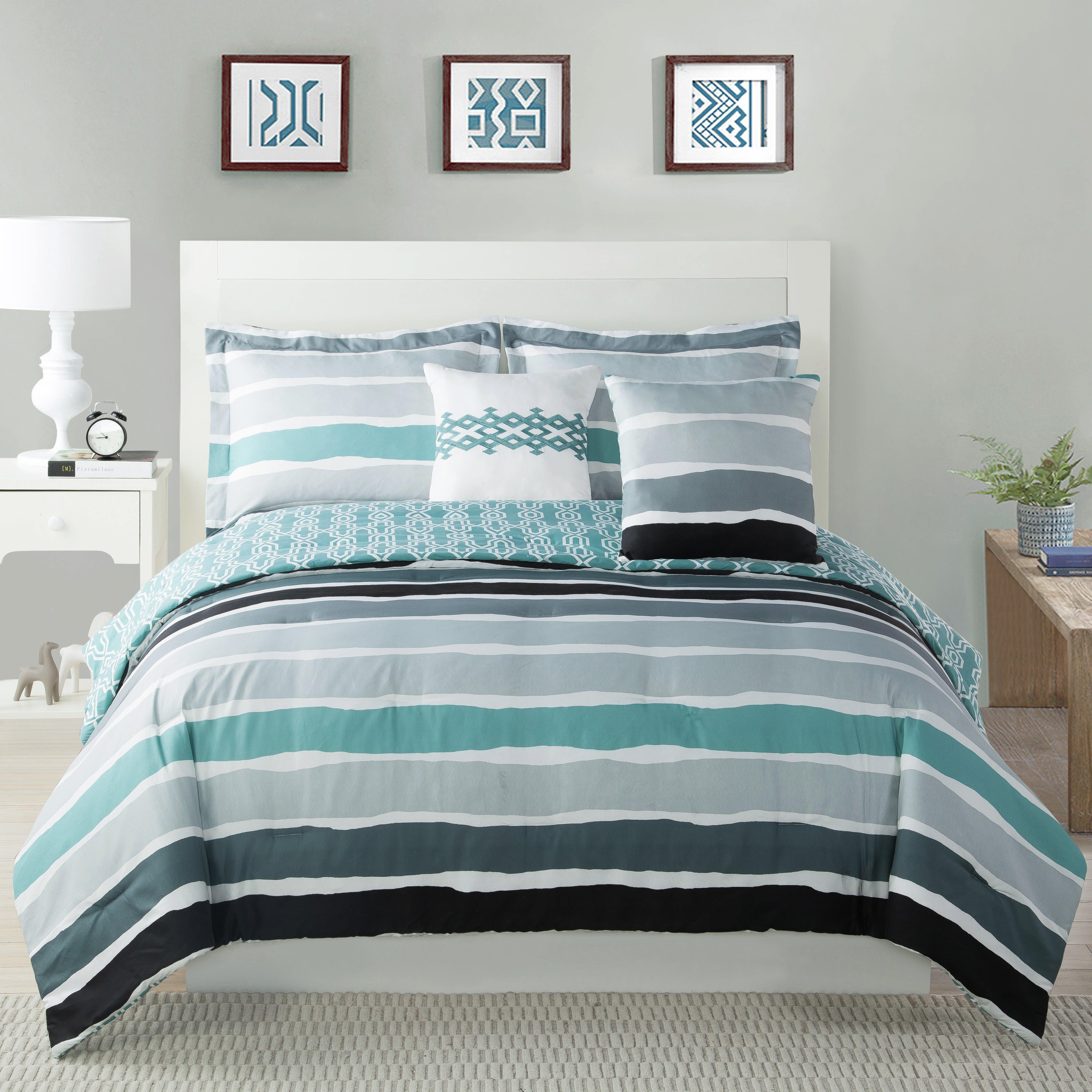 Studio17 Tie Dye Striped Comforter Set Wayfair