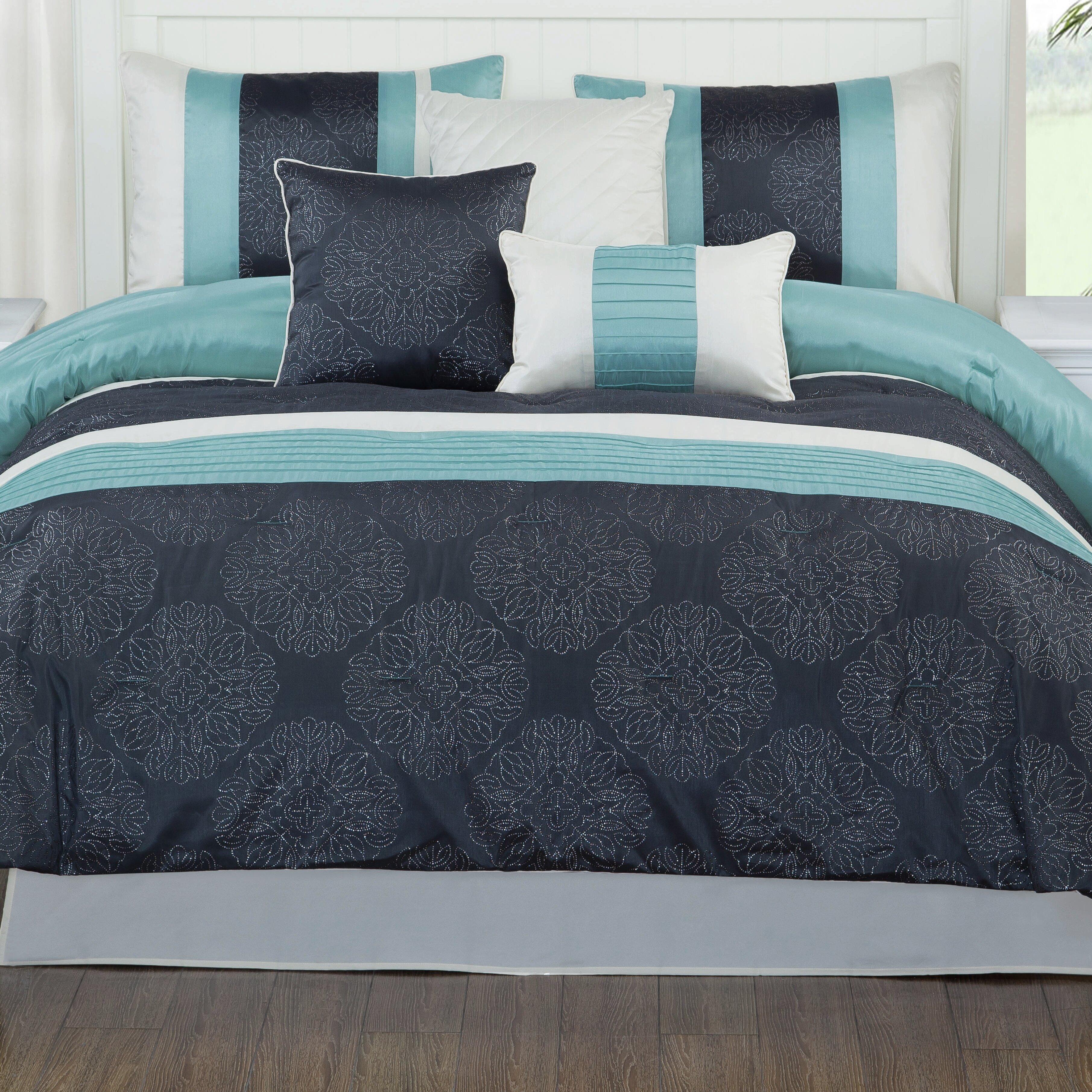 studio17 glorious 7 piece comforter set wayfair