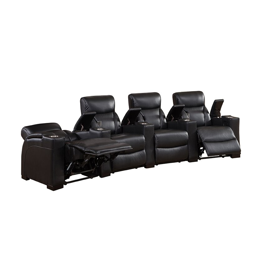 Christmas Tree Shop Manchester Connecticut: Coja Bristol Home Theater 4 Row Recliner & Reviews