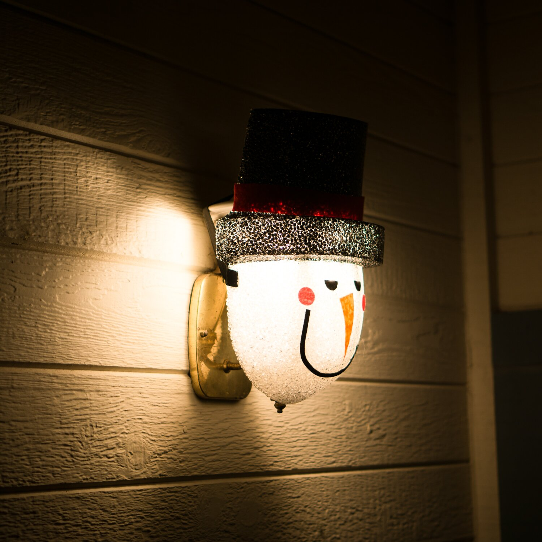 Porch Light Llc: Ienjoyware LLC Snowman Porch Light Cover