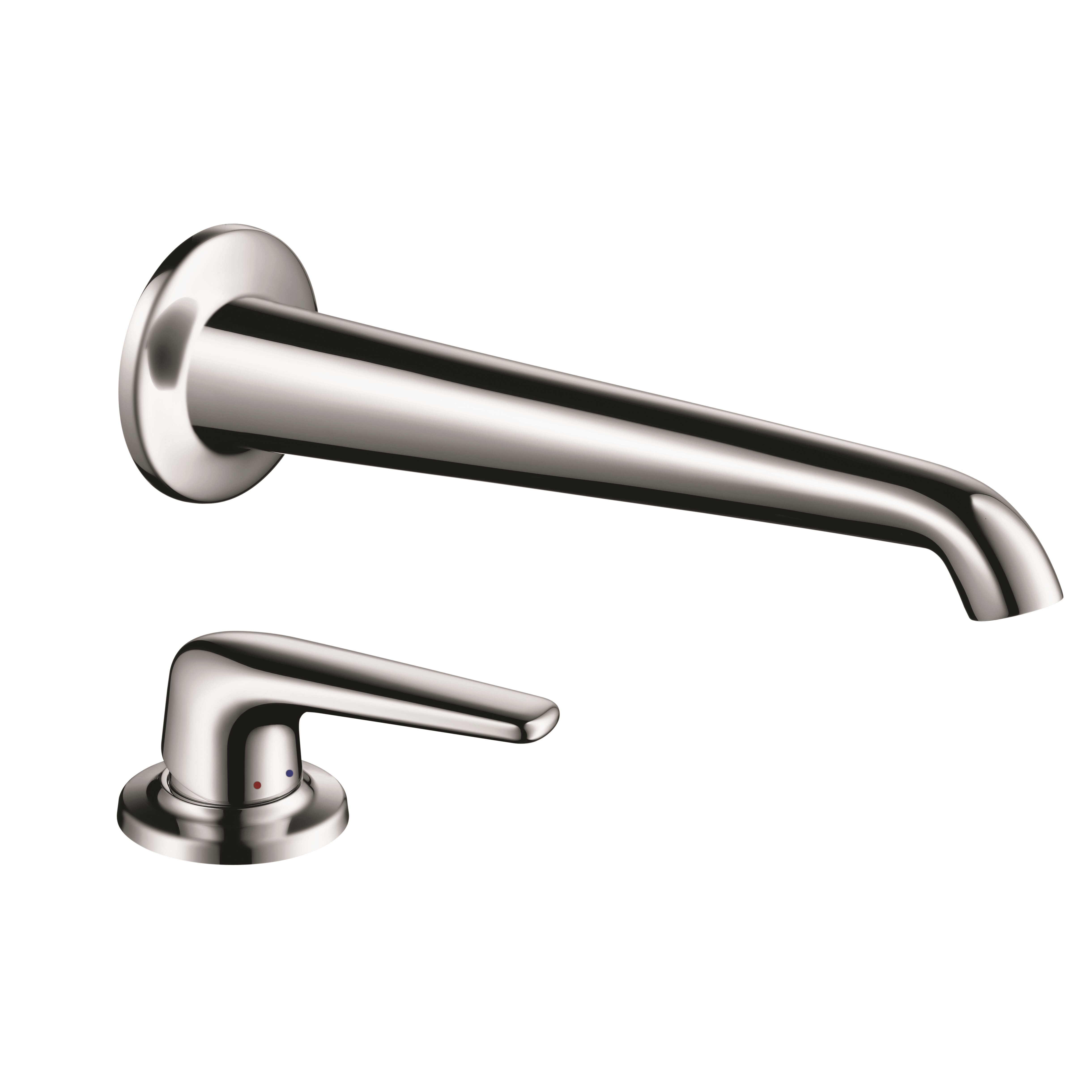 Bathtub Single Handle Faucet : ... Bouroullec Single Handle Wall Mounted Tub Only Faucet Trim by Axor