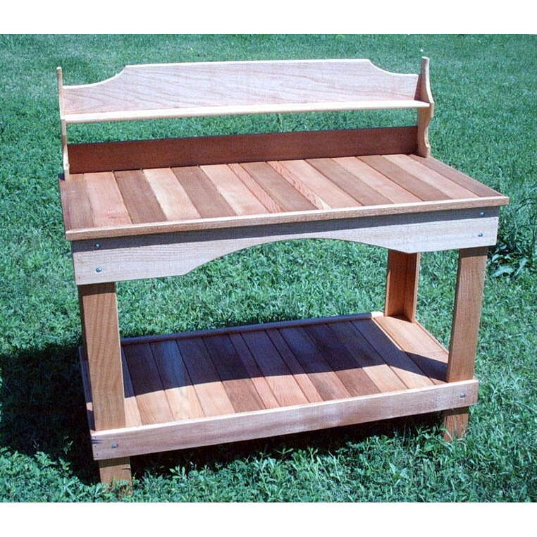 Cedarcreekwoodshop Potting Bench Wayfair