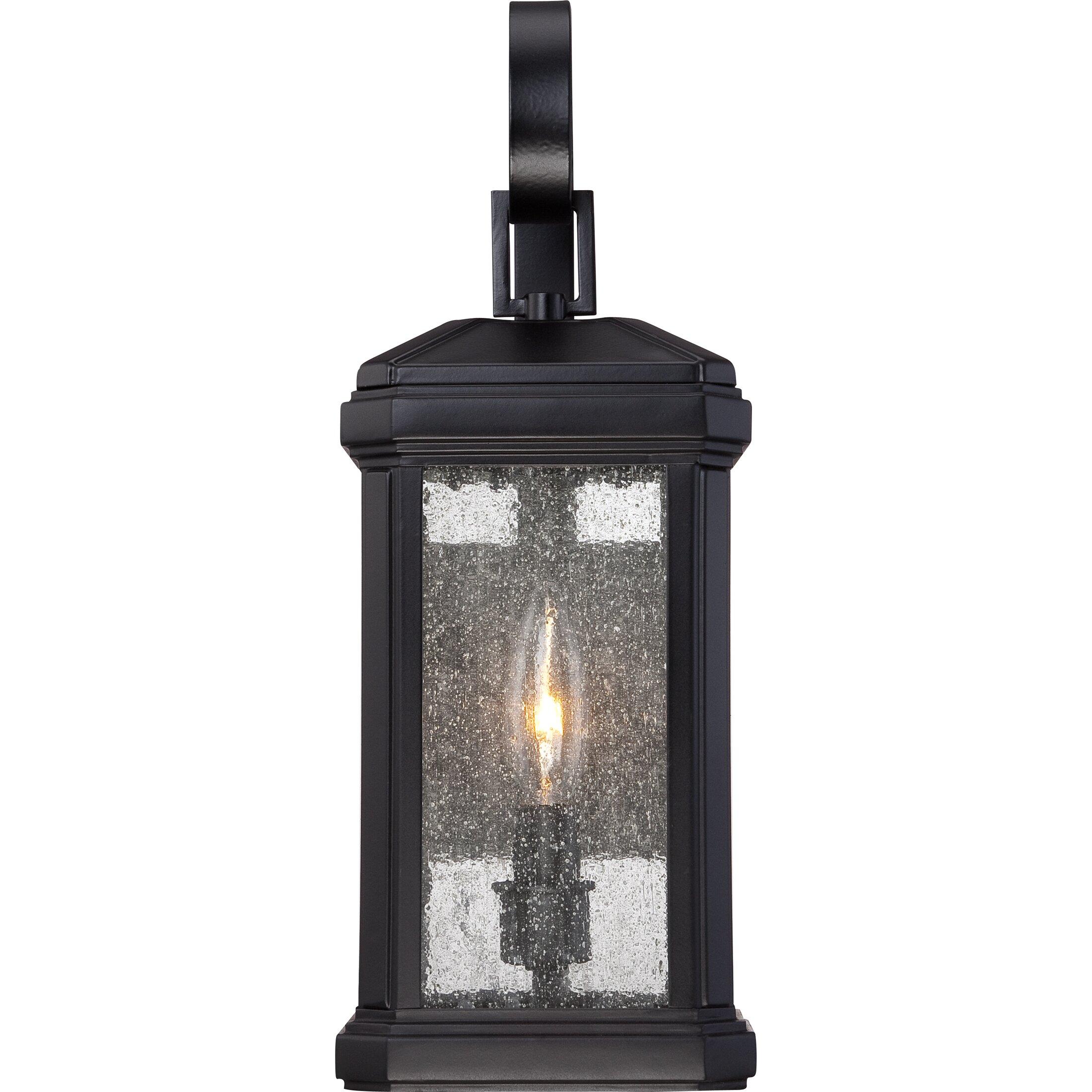 Quoizel Trumbull 1 Light Outdoor Wall Lantern & Reviews