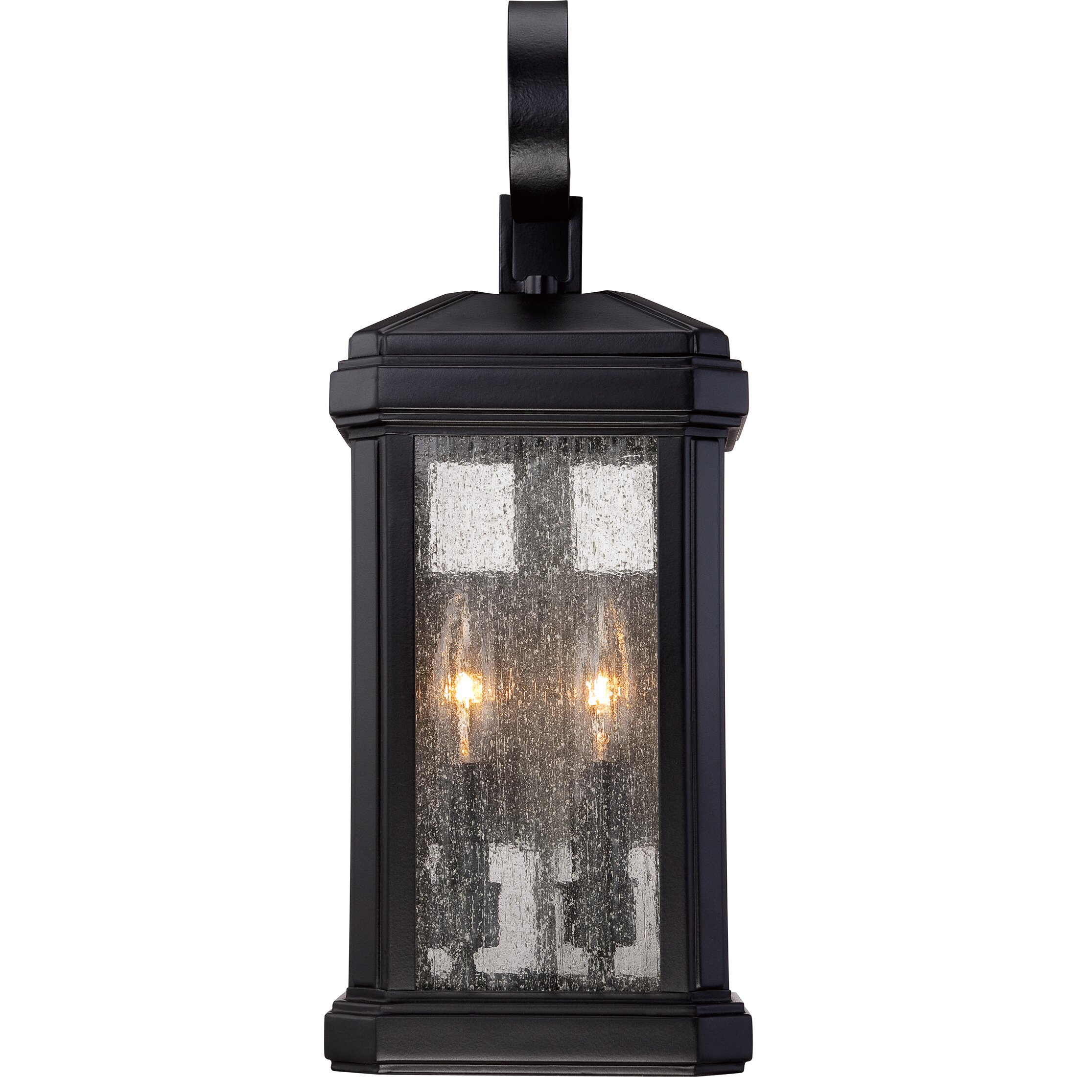 Wall Lantern External : Quoizel Trumbull 2 Light Outdoor Wall Lantern & Reviews Wayfair