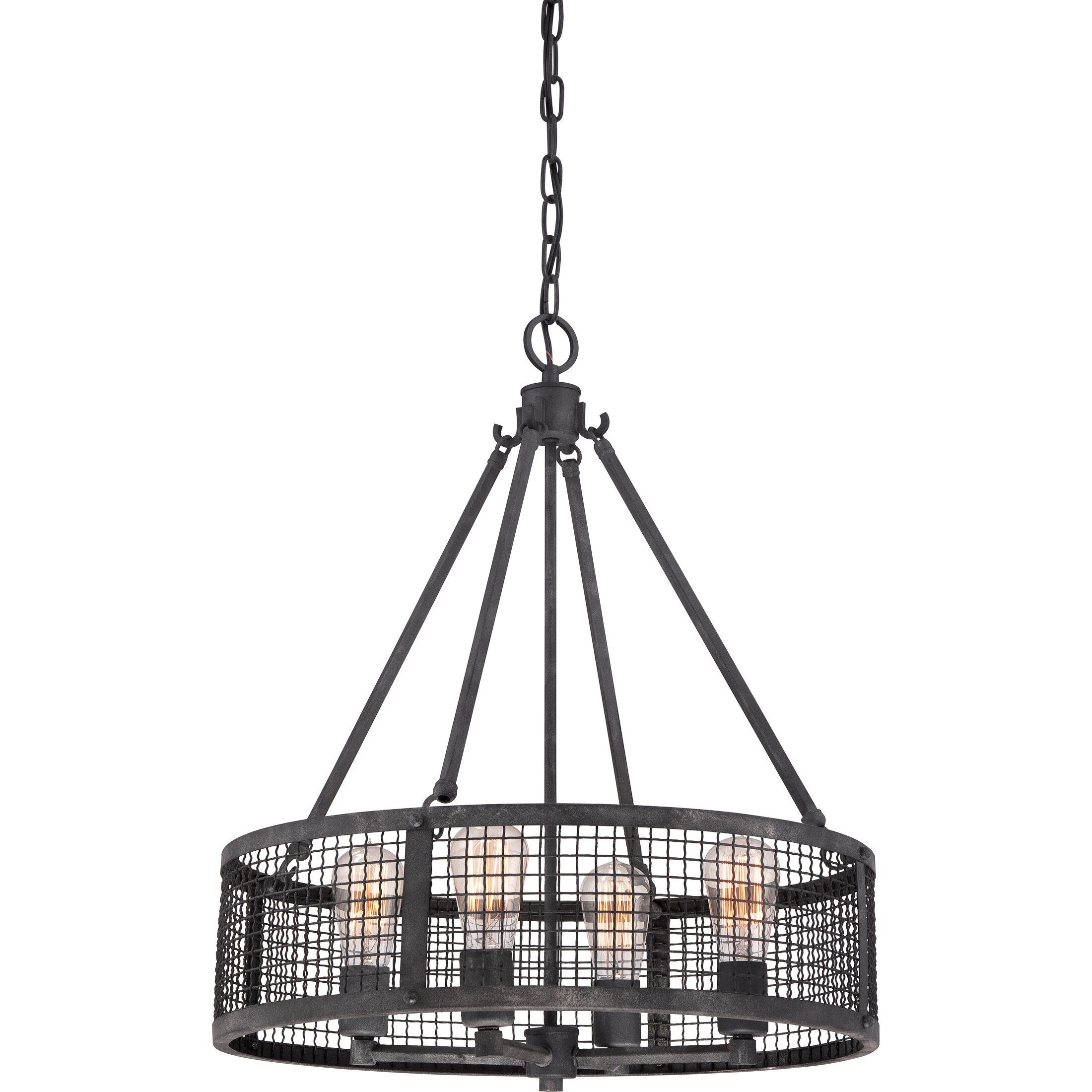 Quoizel Wilder 4 Light Drum Pendant Amp Reviews