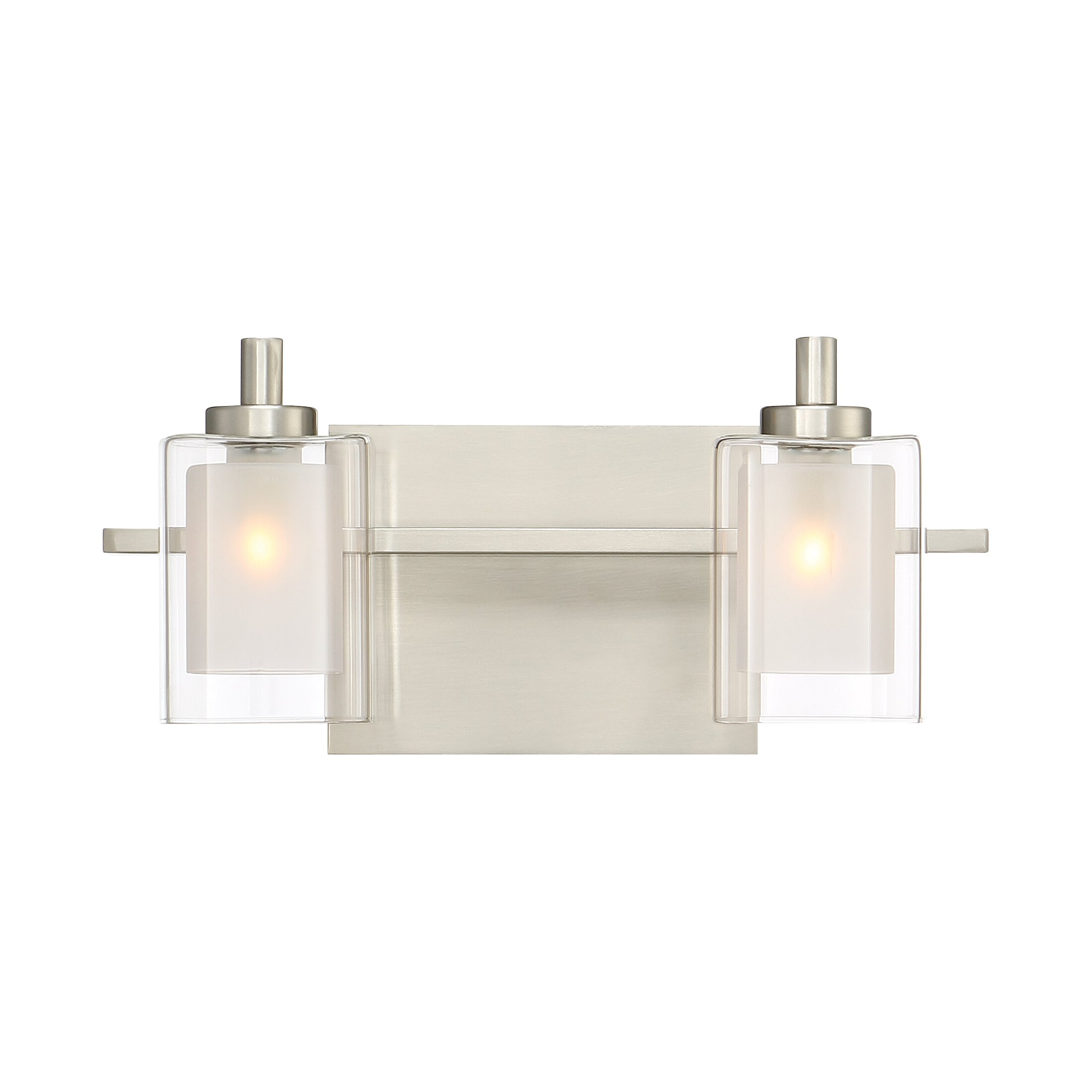 Bar Light Fixtures: Quoizel Kolt 2 Light Bath Bar & Reviews