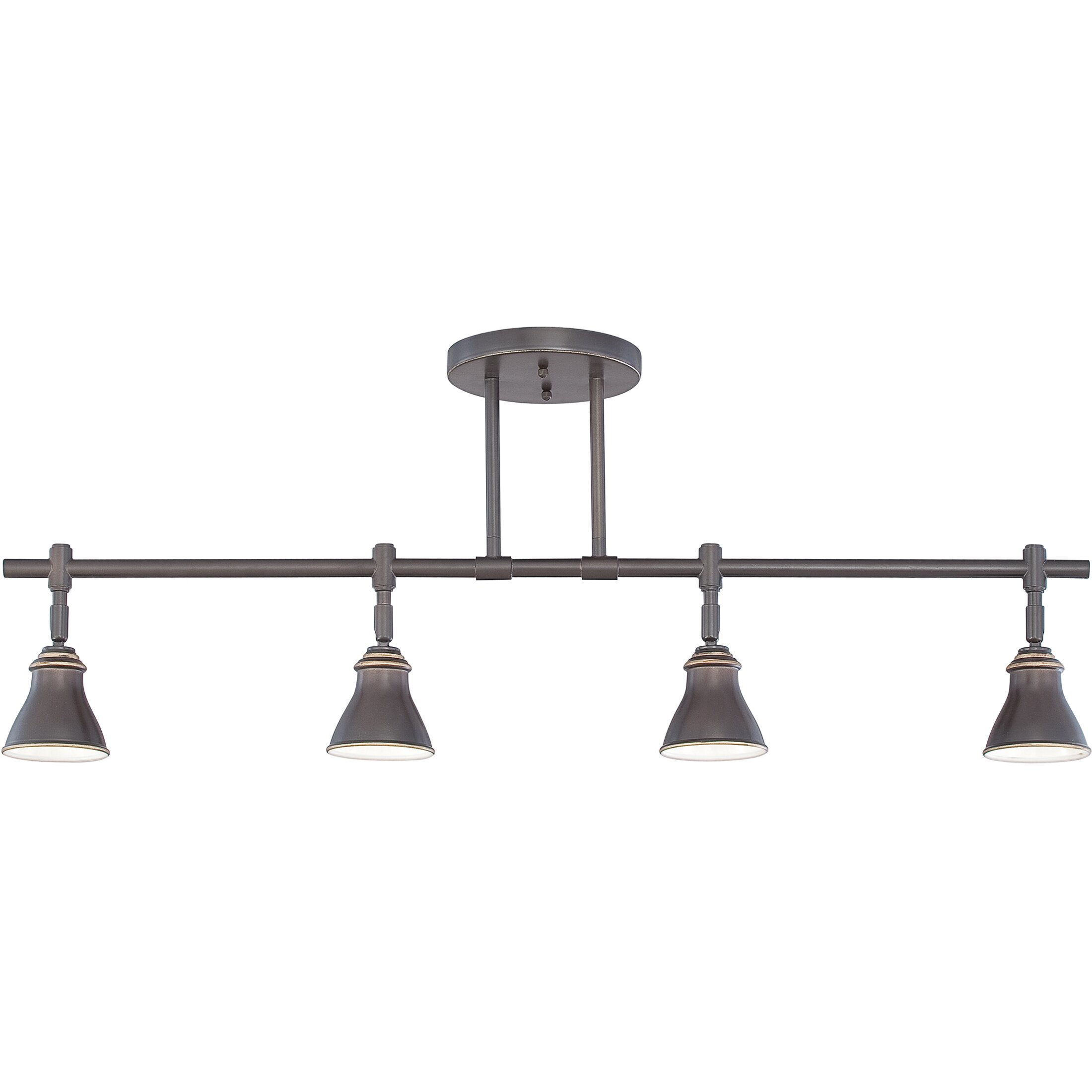 Kitchen Ceiling Track Lights: Quoizel Denning 4 Light Kitchen Island Pendant