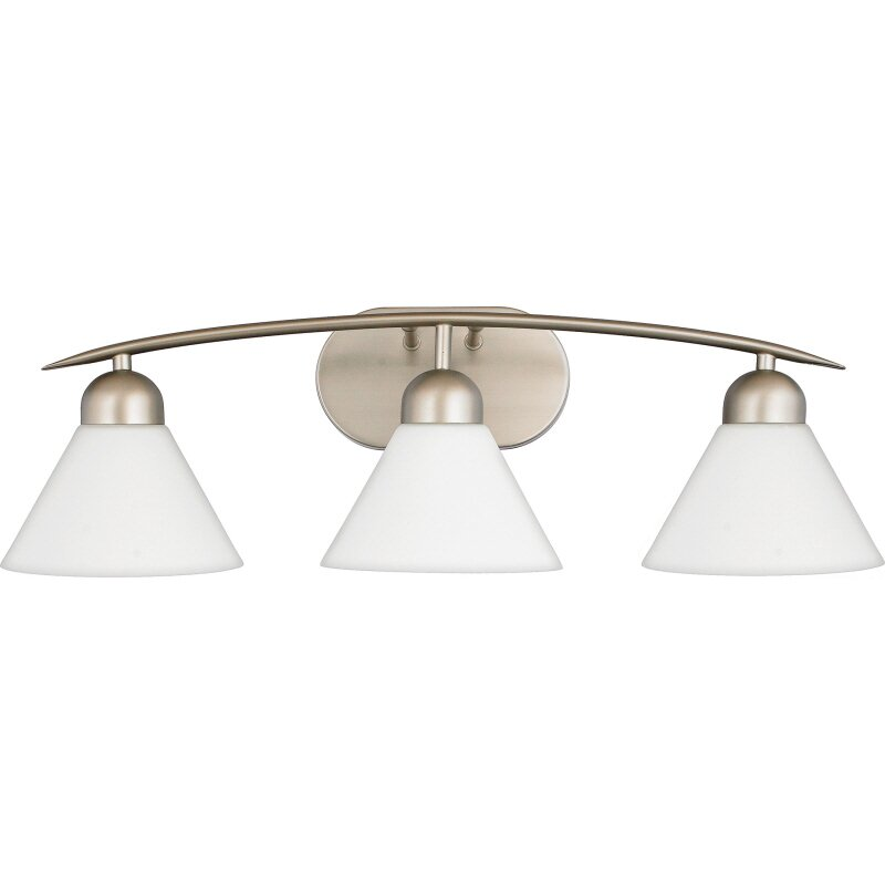 Quoizel Vanity Lights : Quoizel Demitri 3 Light Vanity Light & Reviews Wayfair