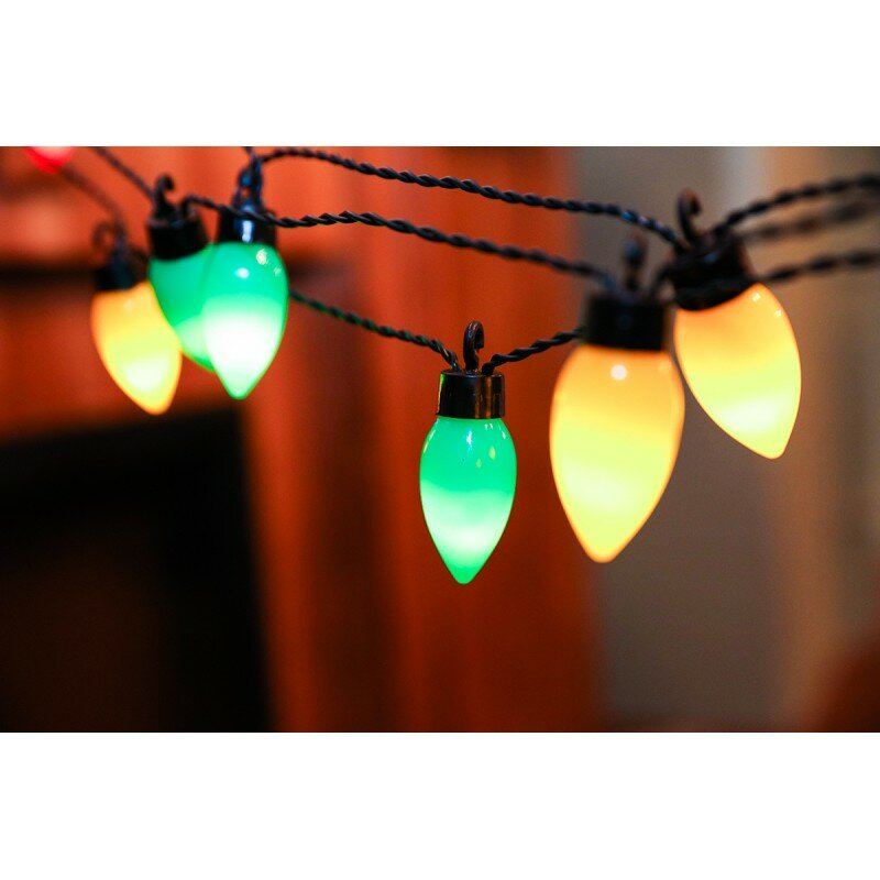 FestivalDepot 20-Light 13.5 ft. Lantern String Lights Wayfair