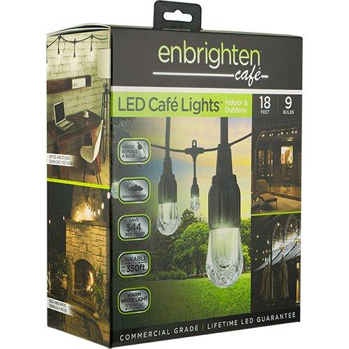 Jasco Patio Lights: Enlighten ® By Jasco Globe String Lights & Reviews