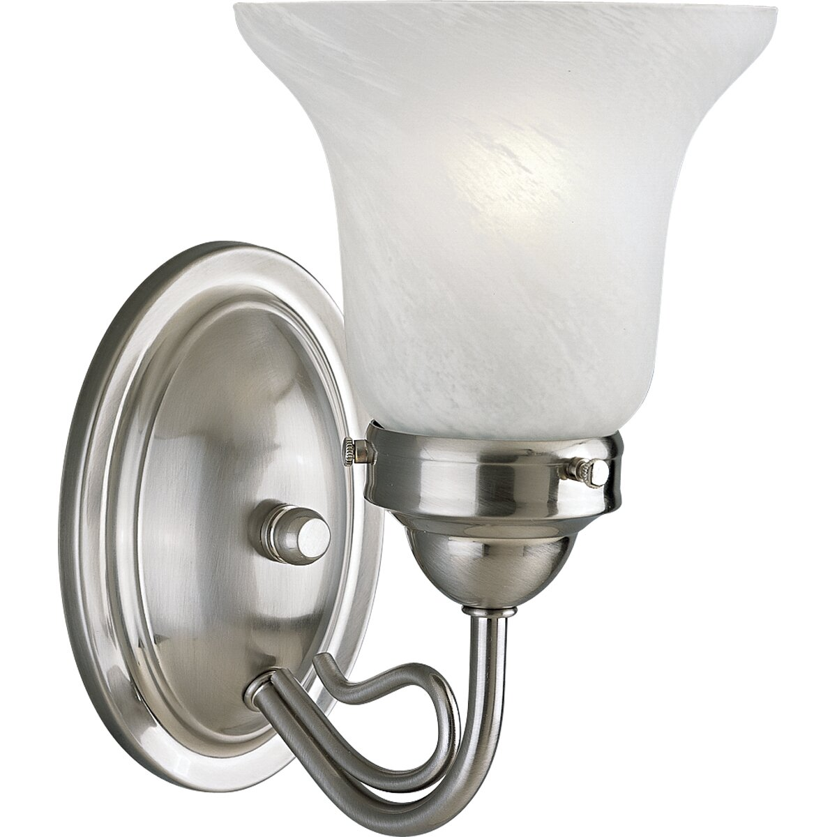 Progress Lighting Bedford Brushed Nickel Wall Sconce Reviews Wayfair