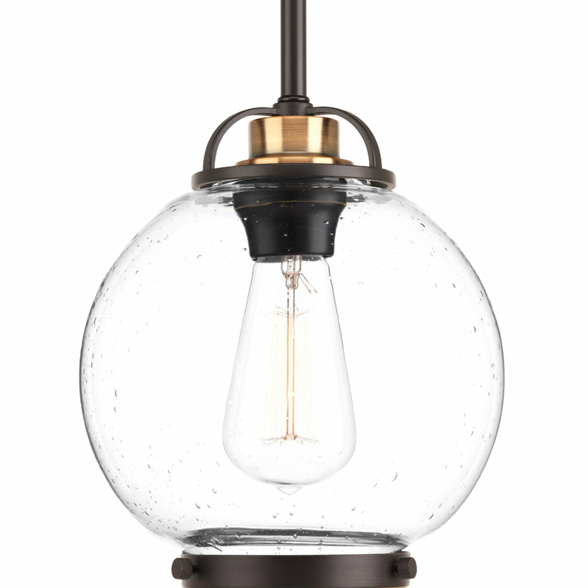Progress Lighting Chronicle 1 Light Globe Pendant