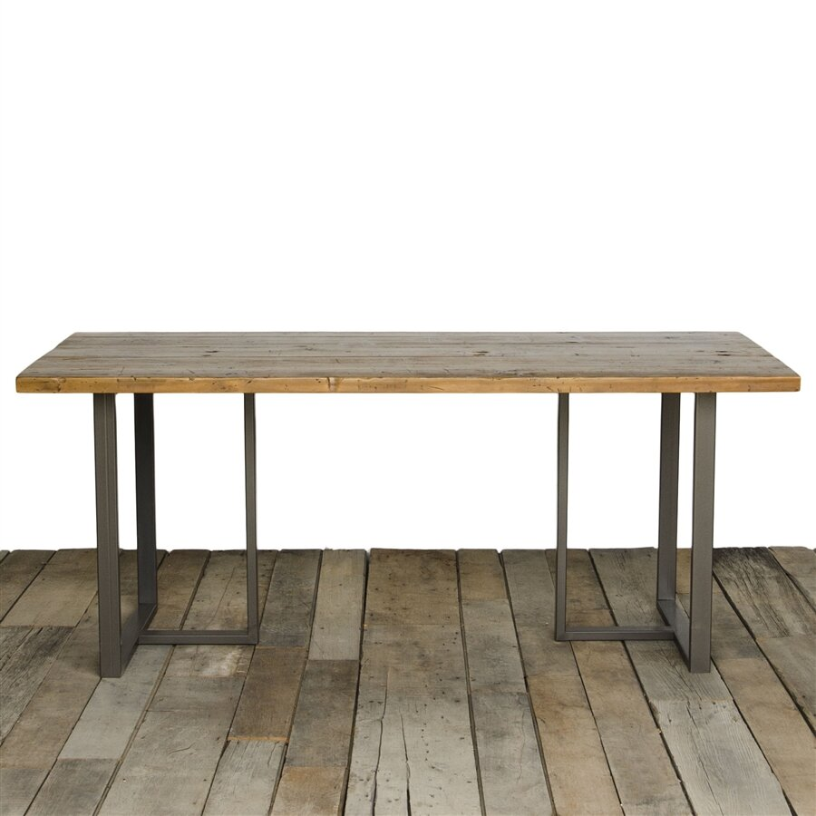 Urban wood goods uptown dining table wayfair for Dining room tables 36 x 72
