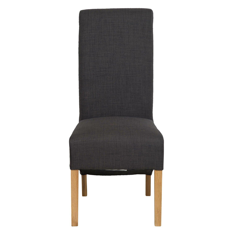 hallowood furniture oak upholstered dining chair wayfair uk